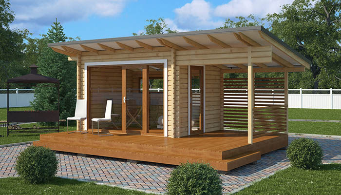 Cobertizo Para Jardin De Madera Clasico Para Uso Residencial - Cobertizo-para-jardin