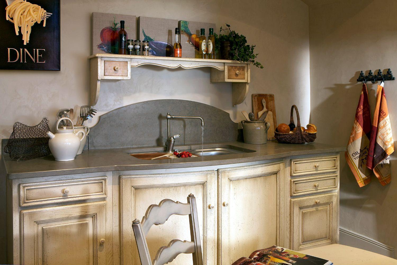 cocina de estilo provenzal clsica de madera rustique cosi