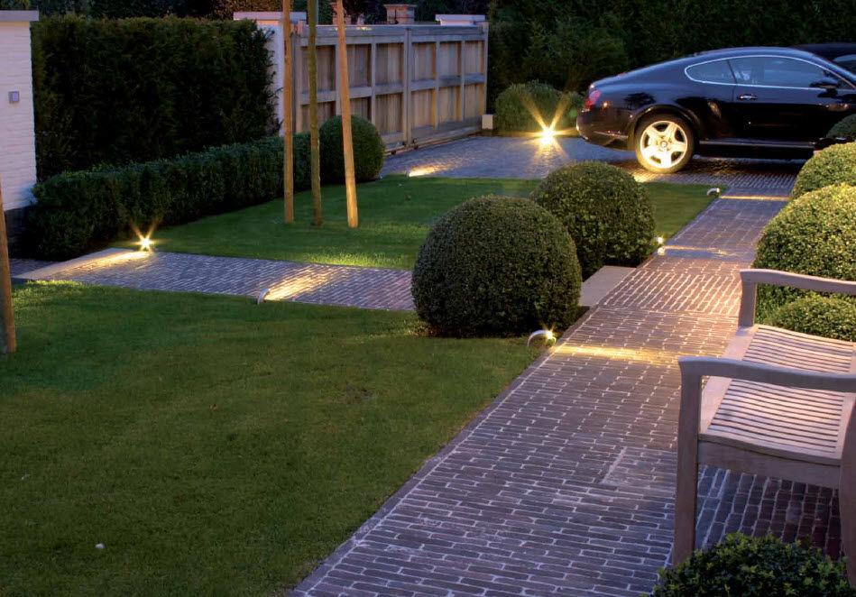 bolardo de iluminacin para jardn moderno de metal led courbes out uno