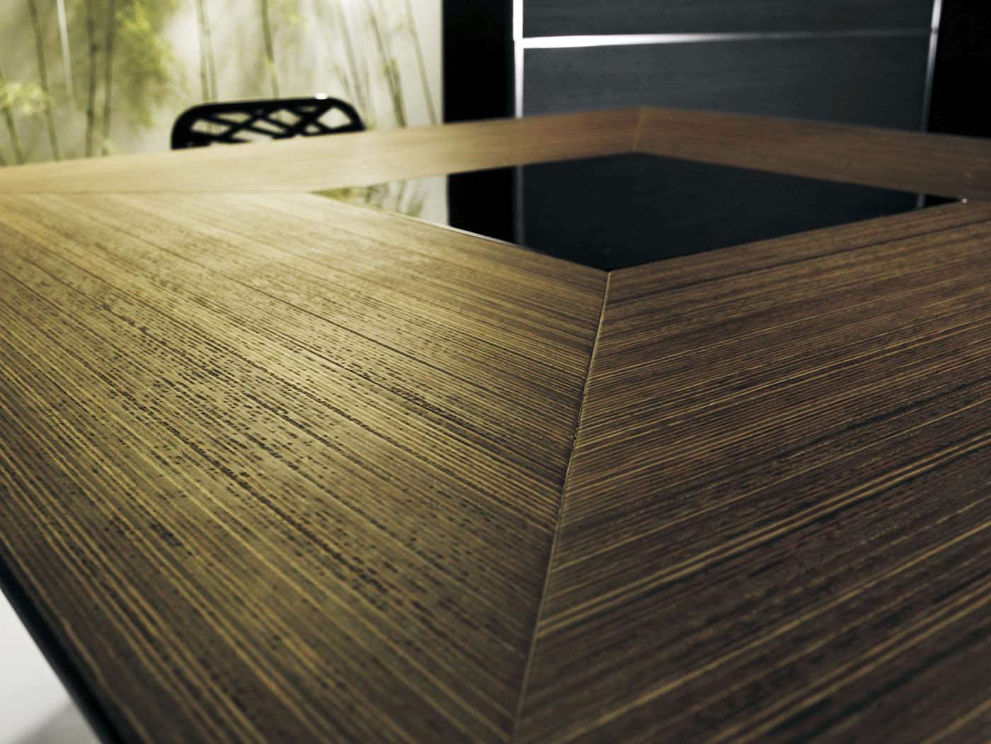 Mesa de comedor moderna / de madera / cuadrada - FITZROY - MODLOFT