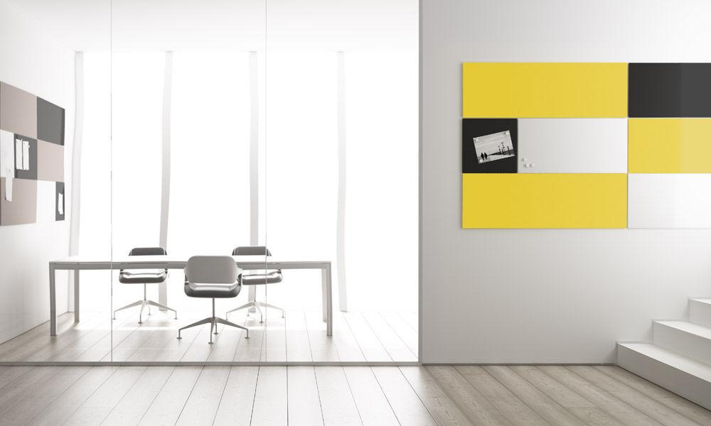panel decorativo de acero para interior de pared modulor by pablo girons