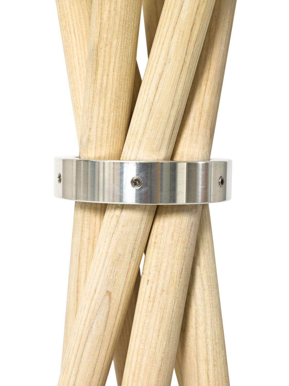 perchero de pie moderno de madera coat by ulrik nordentoft mobel copenhagen
