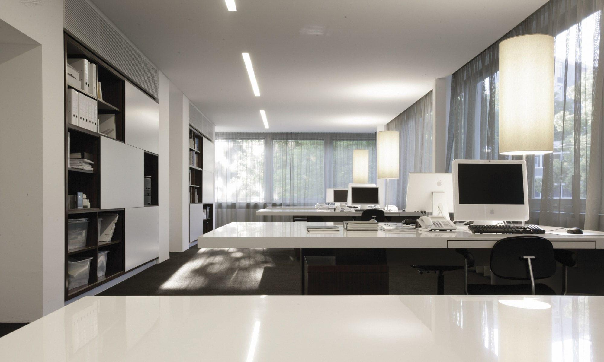 lmpara de oficina moderna de aluminio de lona la bella sattler gmbh