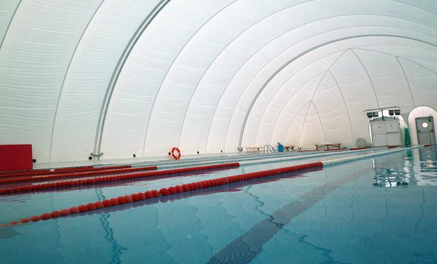Estructura hinchable para pista de tenis / para piscina pública ...