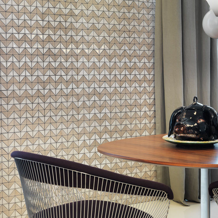 mosaico de interior para suelo de pared de piedra natural p