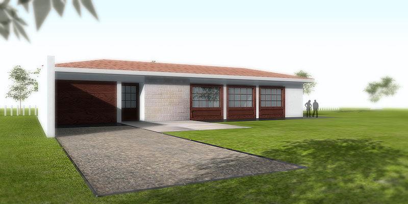 Casa Prefabricada Moderna De Hormigon Class Pujol