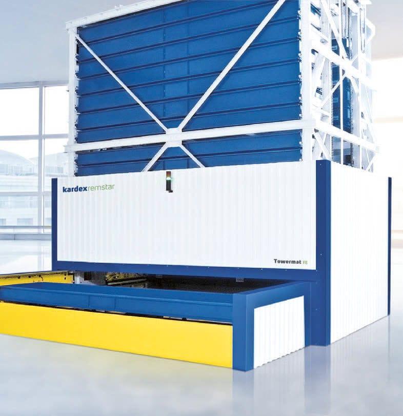estantera giratoria automtica vertical para carga pesada para towermat