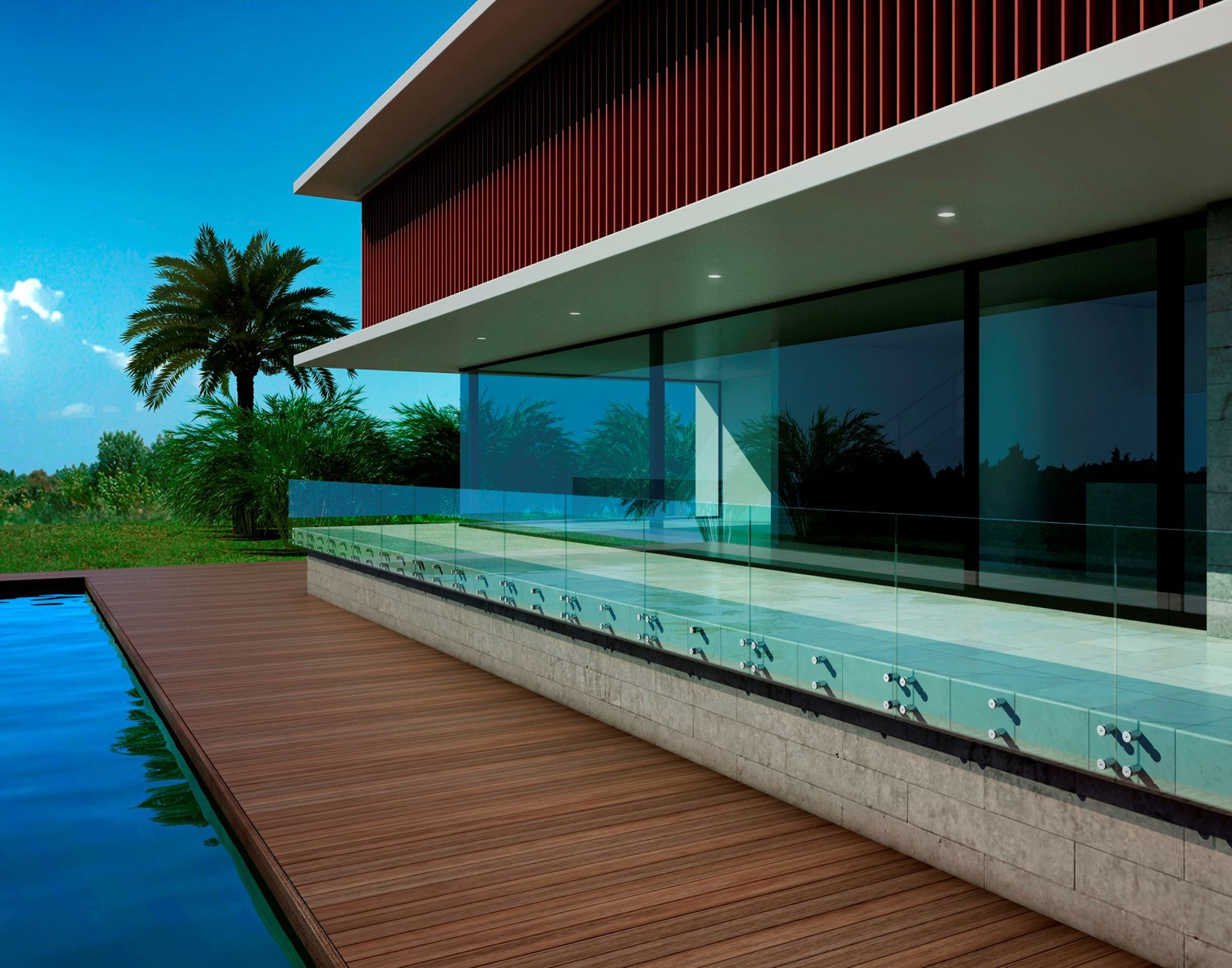 Vidrios Para Balcones. Interesting Awesome Latest Barandilla De ...