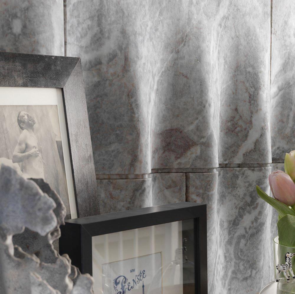 panel decorativo de piedra natural de mrmol para interior tulle by raffaello