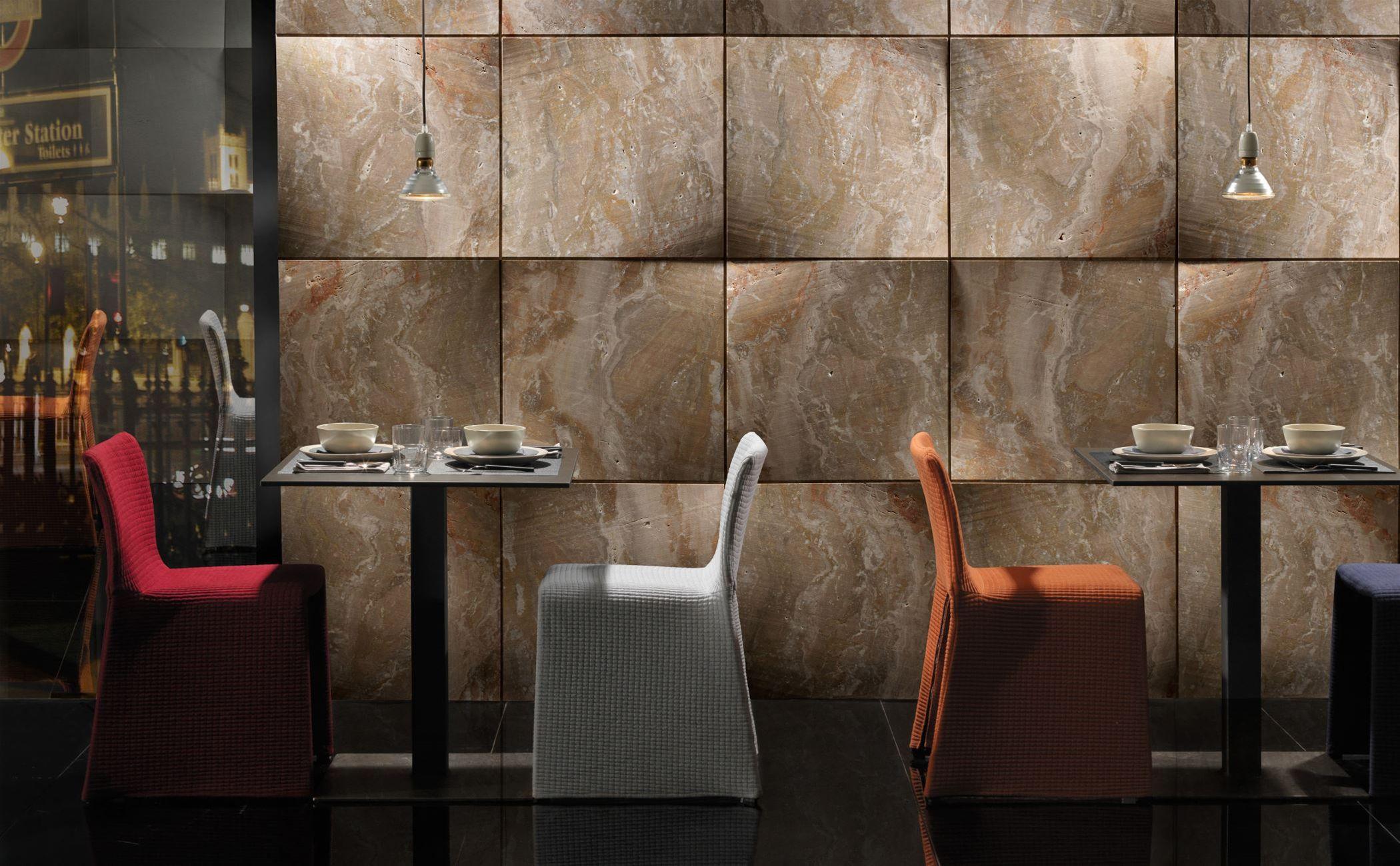 panel decorativo de piedra natural de mrmol para interior foulard by raffaello galiotto