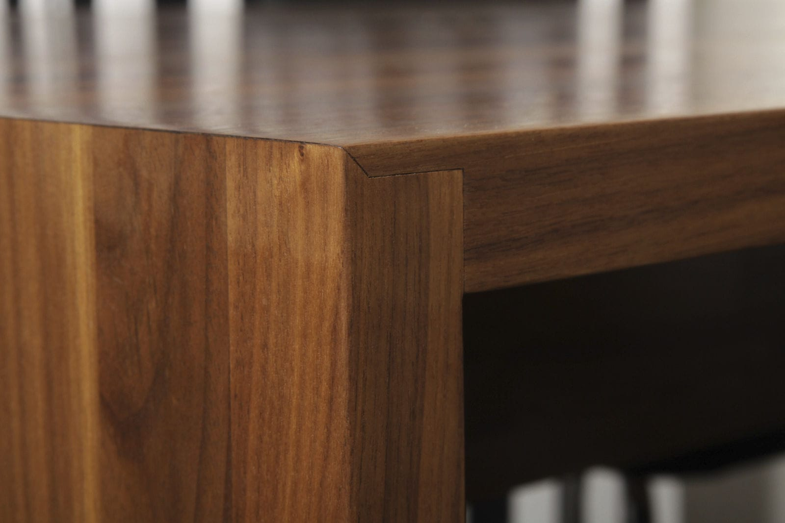 encimera de madera maciza para cocina american walnut desk form as