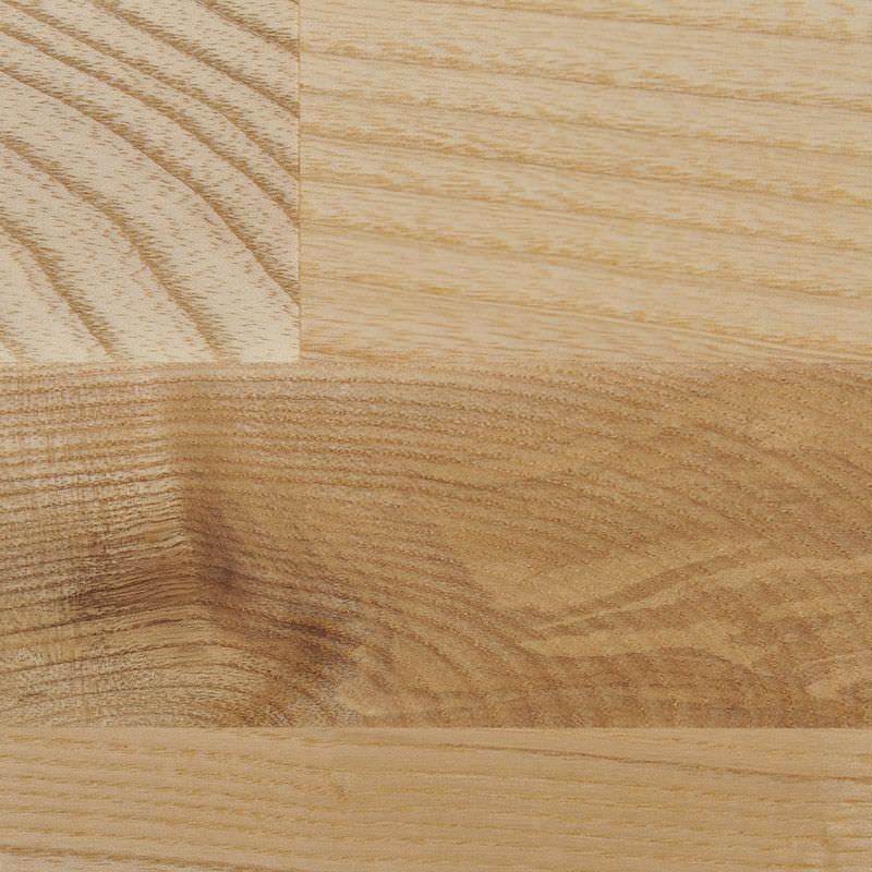 encimera de madera maciza para cocina ash natural