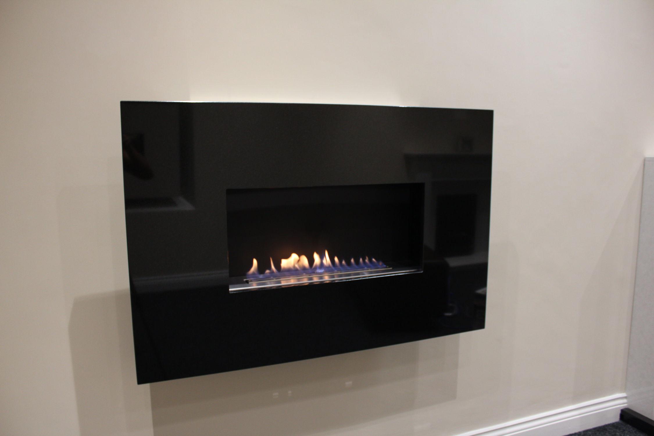 chimenea de gas moderna de diseño original hogar abierto