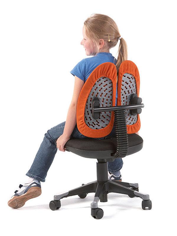 Silla de oficina moderna / giratoria / para niños / con ruedas ...
