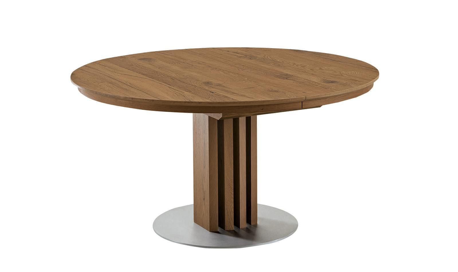 Mesa de comedor moderna / de madera / redonda / plegable - ET204 ...