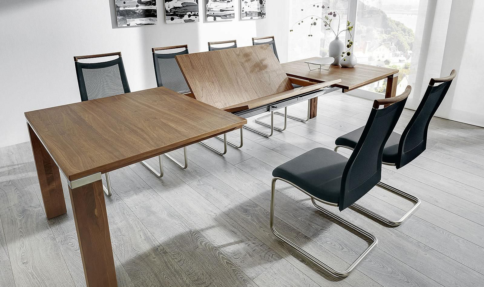Mesa de comedor moderna / de madera / rectangular - MULTIFLEX ...