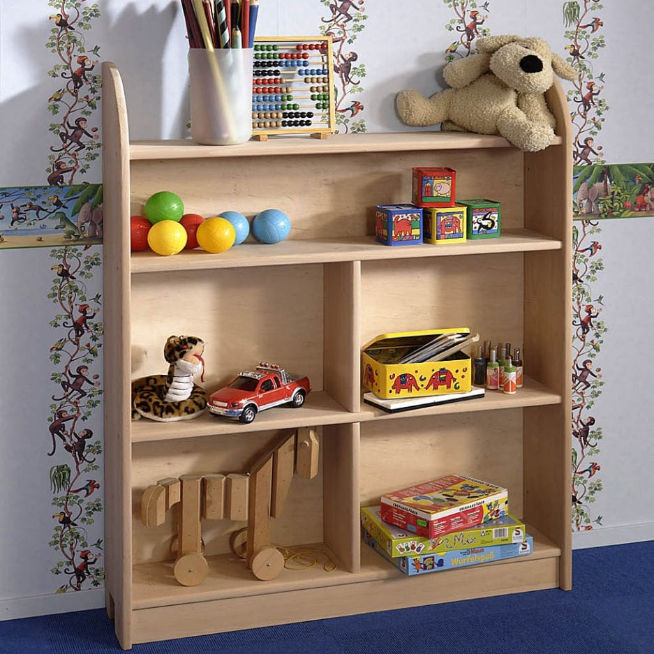 Biblioteca baja / moderna / de madera / para niños - TOMMY ...