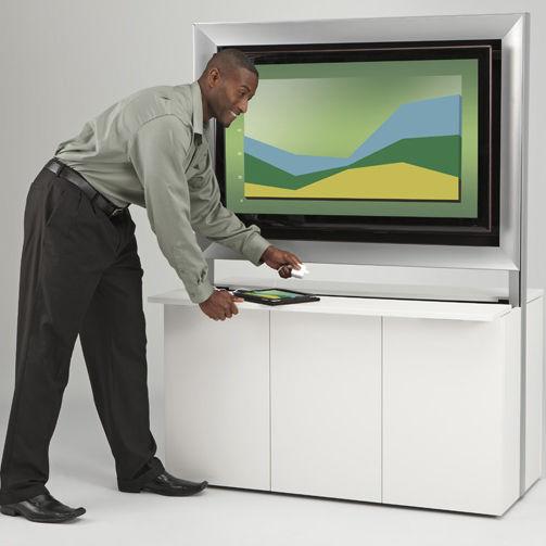 Mueble multimedia moderno / para sala de conferencias / para sala ...