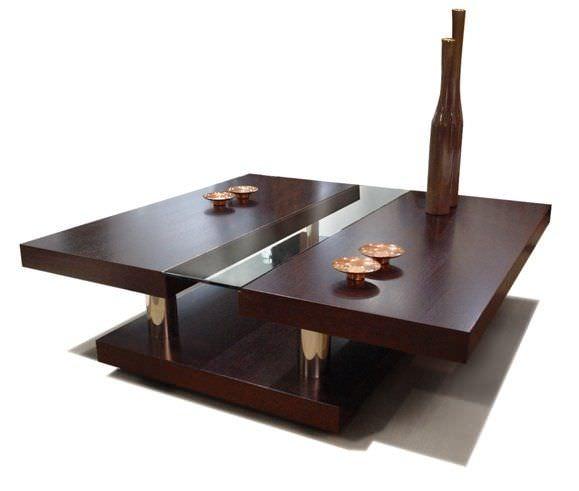 Mesa de centro / moderna / de roble / de interior - BERENICE ...