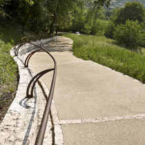 Pavimento de hormigón / para espacio público / otros formatos / texturado