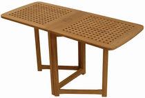 Mesa clásica / de madera / rectangular / de jardín