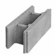 Bloque de encofrado de hormigón / para muro