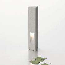 Bolardo de protección / de hormigón / fijo / luminoso