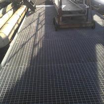 Suelo técnico de acero / de seguridad / de exterior / de parrilla