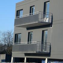 Barandilla de acero galvanizado / enrejada / de exterior / para escalera