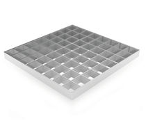 Tarima de acero / de aluminio / de acero inoxidable / para peldaños de escalera