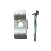 Sistema de fijación metal / para forjado