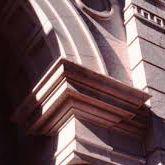 Moldura de hormigón / de esquina / recta / de arco
