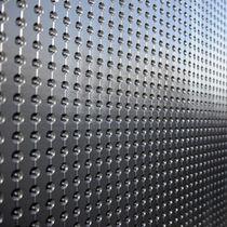 Membrana impermeabilizante de polietileno de alta densidad PEAD / para muro / en rollo / drenaje de cimentación