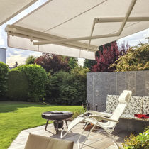Toldo con cofre / manual / para terraza / para ventana
