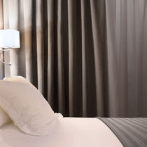 Tela de tapicería / para cortinas / de pared / de rayas