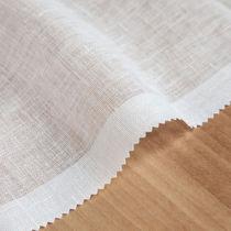 Tela para cortinas / de color liso / de lino