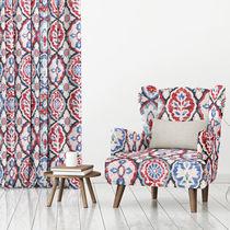 Tela de tapicería / de flores / de poliéster / Jacquard