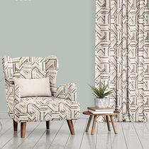 Tela de tapicería / para cortinas / con motivos geométricos / de poliéster
