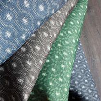 Tela de tapicería / para cortinas / con motivos geométricos / monocroma
