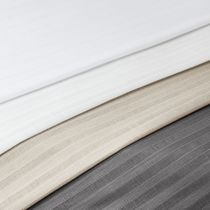Tela para cortinas / de rayas / de poliéster / 100 % reciclada