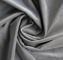 Tela de tapicería / de color liso / de terciopelo / de Trevira CS®