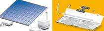 Estructura de soporte para cubierta de tejas / para cubierta plana / para techo / para aplicaciones fotovoltaicas