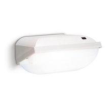 Iluminación de emergencia mural / rectangular / fluorescente compacta / de policarbonato