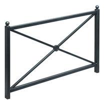 Barrera de protección / fija / de hierro fundido / para espacio público