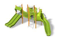 Estación de juego de plástico / para parque infantil