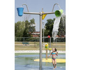 Ducha de polímero / para parque acuático / para niños