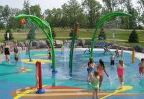 Fuente para parque acuático