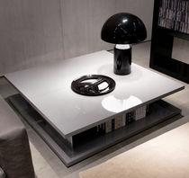 Mesa de centro / moderna / de aluminio / rectangular