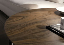 Mesa de centro / moderna / de madera / de vidrio