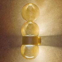 Aplique moderno / de vidrio / LED